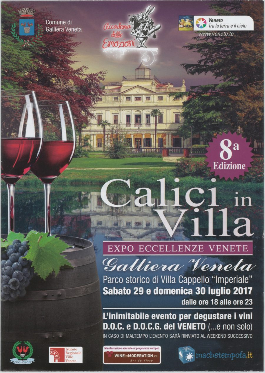 CALIVI IN VILLA 2017