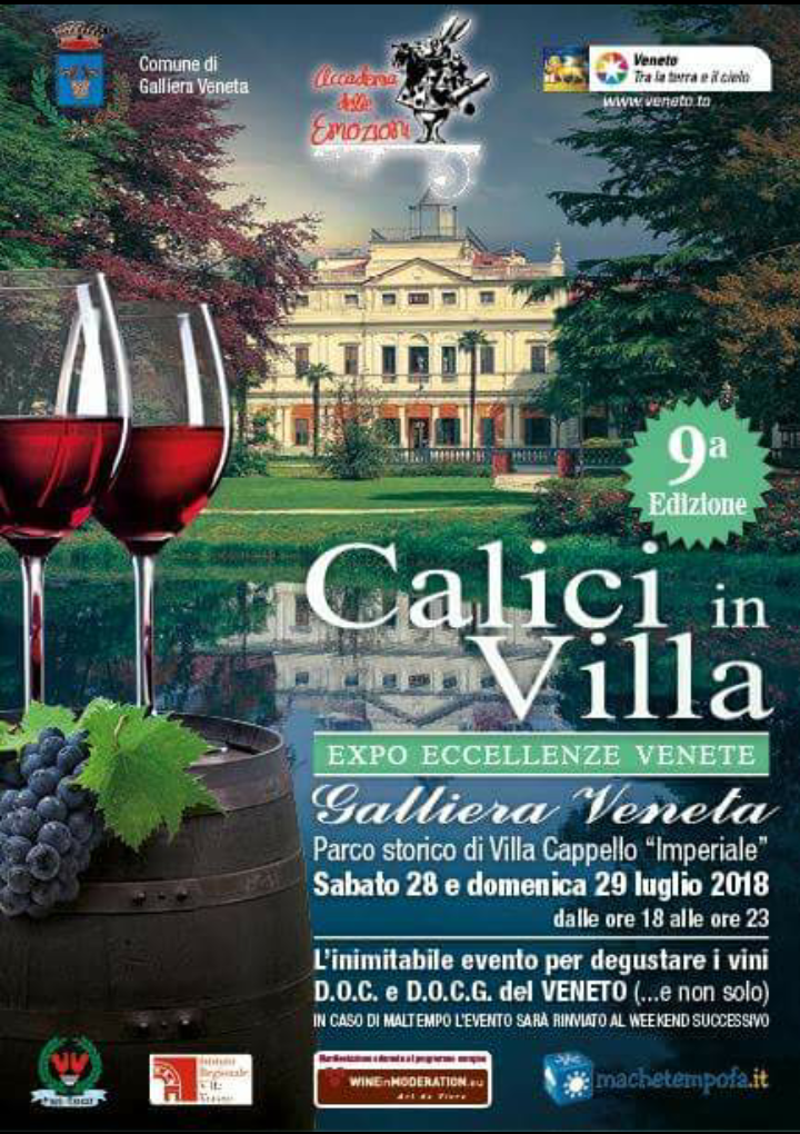 CALICI IN VILLA 2018